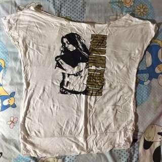 穿過一次白上衣 保存佳 #九月免購物直接送