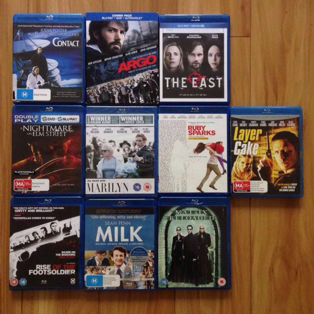 10x Blu-ray's for $30 | Horror | Cult | Cheap | Marilyn Monroe