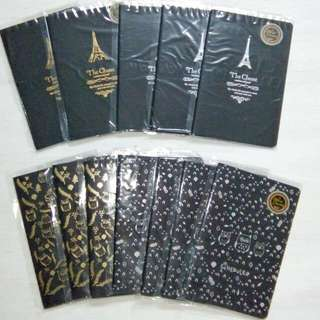 Black pages noteboos