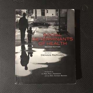 Social Determinants of Health (2nd edition)