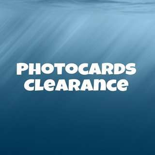 Official Photocards Clearance!