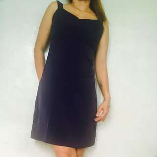 ‼️Repriced‼️Tailored Navy Blue Office Dress Also Available In Black