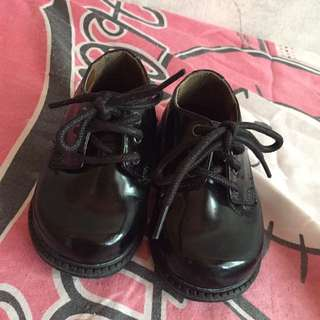 Authentic George Black Shoes