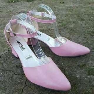 Heels / Strap Heels / Pink Heels / Heels Wanita / Heels Murah