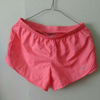 pink Nike dri-fit shorts
