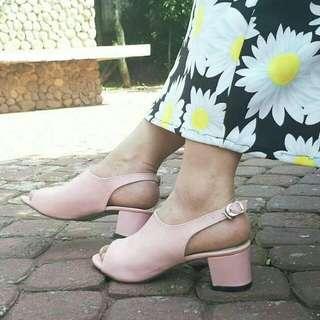 Wedges / Wedges Pink / Sepatu Wanita / Wedges Murah