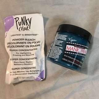 Ombré kit: hair bleach + Manic Panic BNIB