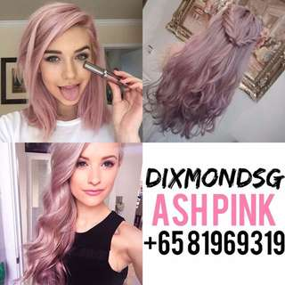 DIXMONDSG ASH PINK HAIR DYE