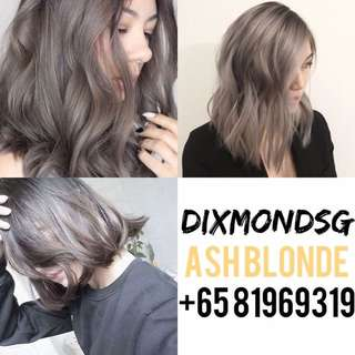 DIXMONDSG ASH BLONDE HAIR DYE