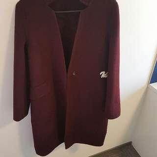 100%wool coat