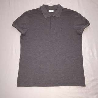 Men's M grey YSL polo