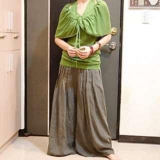 MOMA 專櫃正品 斗篷式 針織 上衣 造型設計款 全新 36號 假兩件式上衣
