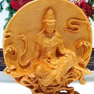 🚚 木雕擺示品