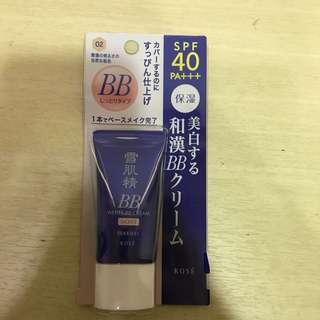 日本雪肌精 bb霜