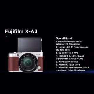 Sewa Kamera Fujifilm X-a3