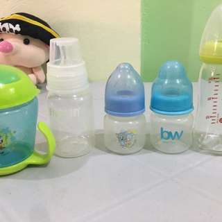 Baby Bottles/ 1 Week Used Only