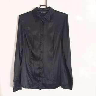 Marks & Spencer Silk Button Up Shirt