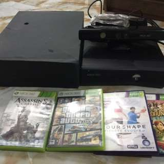 Preloved Xbox 360 with Kinect