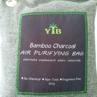 AIR PURIFYING BAMBOO CHARCOAL 500G