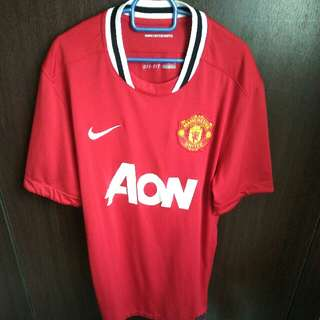 Manchester United 2011/12 Home Jersey