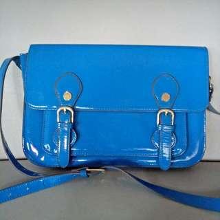 Steve Madden Ori Sling Blue Bag