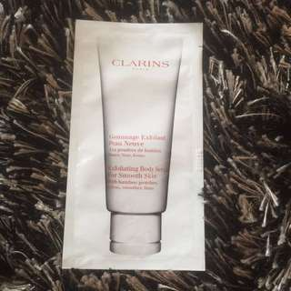 CLARINS Exfoliatinh Body Scrub for Smooth Skin