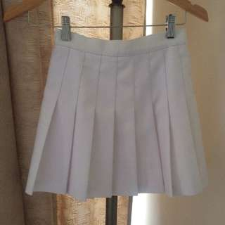 White American Apparel Skirt