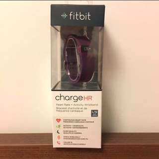 Fitbit Charge HR - New/L