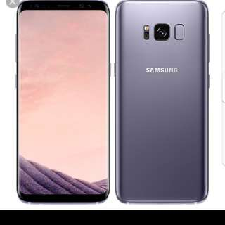 Samsung S8 Brand New Orchid Grey