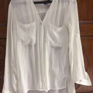 blouse h&m white