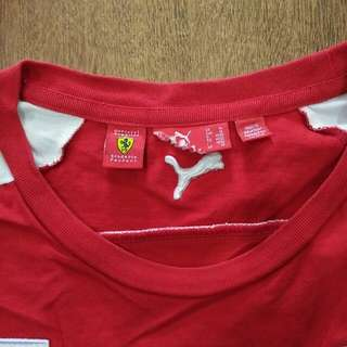 T Shirt F1 PUMA Ferrari