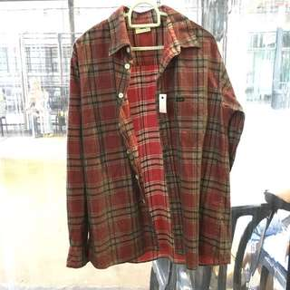 Lee red flannel