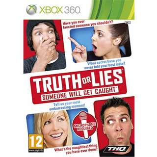 Xbox 360 Truth Or Lies Someone Will Get Caught (PAL)