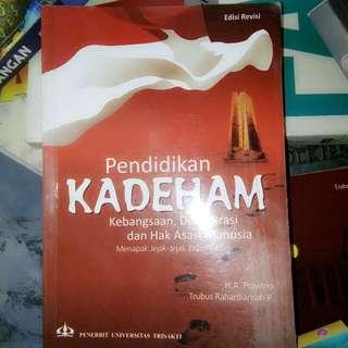 KADEHAM - TRUBUS PENERBIT UNIV. TRISAKTI