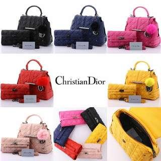 Dior Vanesha Set Clutch