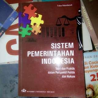Sistem Pemerintahan Indonesia-Trubus Penerbit Univ.Trisakti