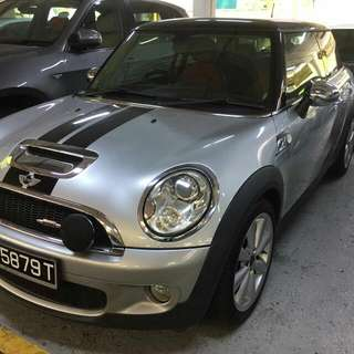 MINI COOPER S JCW 1.6(A) TURBO 2007 TIP TOP CONDTION (BEST PRICE IN TOWN) (SGPORE SCRAP CAR)