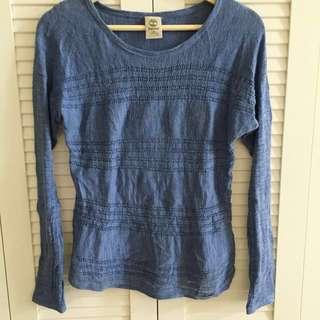 💎Timberland 藍色針織上衣💎#含運最划算