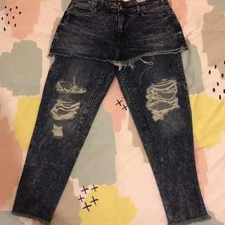Zara skirt pants size Eur 38