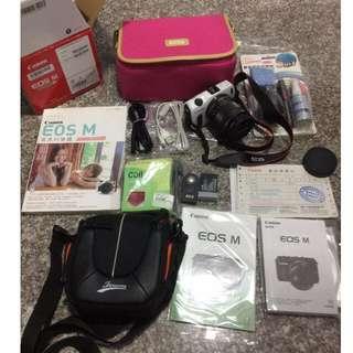 Canon Eos M二手微單眼相機大全配