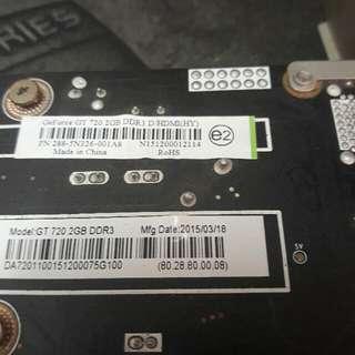 顯示卡GT720