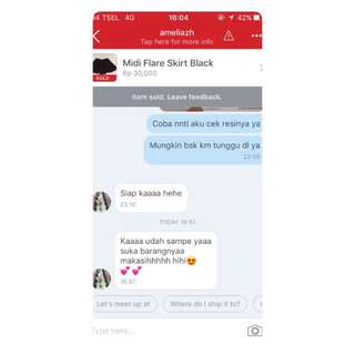 Testimoni From Our Lovely Cust❤️❤️❤️