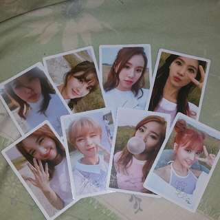 Twice Photocard Official