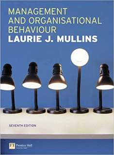 Management & Organisational Behaviour 7th Ed - UOL text for EMFSS module Introduction to business and management