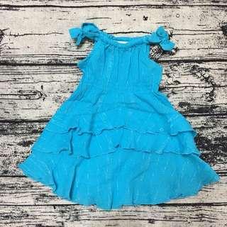 全新薇妮皇家 土耳其藍洋裝