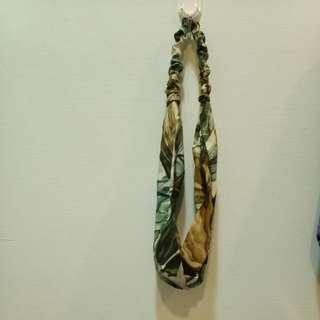 日本老布 森林系髮帶