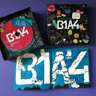 B1A4 SIGNED WHAT'S HAPPENING ALBUM