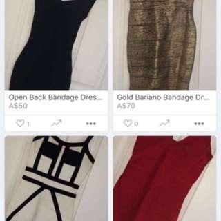 50$ Bandage Dresses!!