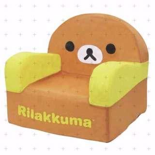 【預購】日本空運(719961) | 懶懶熊:單人椅子/沙發椅子(尺寸:大約40cm)_免運。