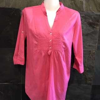 Preloved ZARA cotton top size L